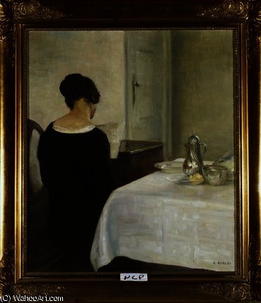 The letter by Carl Vilhelm Holsoe (1863-1935, Denmark)