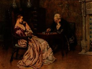 Charles Green - A Game of Chess