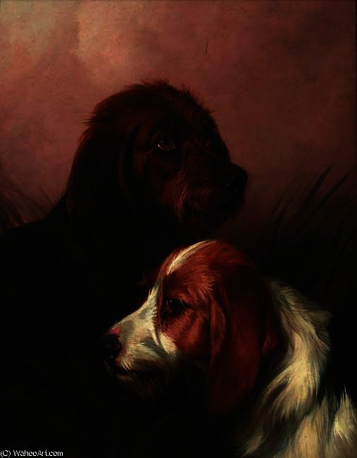 The best of friends by Colin Graeme Roe (1858-1910, United Kingdom) | ArtsDot.com