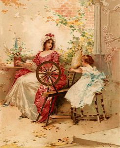 Edward Percy Moran - Learning to Spin