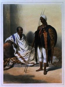 Émile Prisse D-avennes - Abyssinian Priest and Warrior