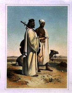 Émile Prisse D-avennes - The Ababda, Nomads of the Eastern Thebaid Desert