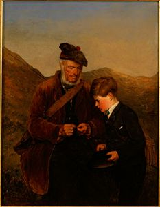 Erskine Nicol - A willing pupil