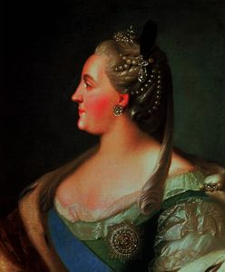 Fyodor Stepanovich Rokotov - Portrait of Empress Catherine II the Great , after