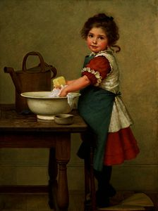 George Dunlop Leslie - his Is the Way We Wash Our Clo..