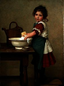 George Dunlop Leslie - This Is the Way We Wash Our Cl..