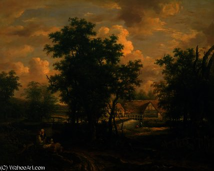 View in Suffolk by George Vincent (1796-1831, United Kingdom)