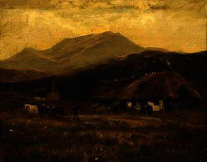 Henry Hadfield Cubley - At kinlochewe