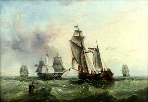 Henry Redmore - Dutch and British Shipping