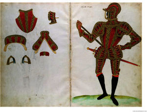 Jacobe Halder - Suit of armour for lord compto..
