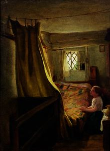 John Bagnold Burgess - Evening prayer