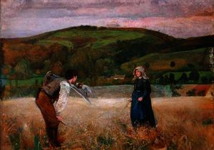 John William North - A Field of Barley