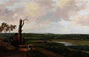 Nicolaas Johannes Roosenboom - Enjoying the panoramic view