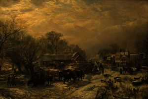 Samuel Bough - The mail coach