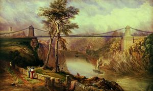 Samuel Jackson - View of the Avon Gorge