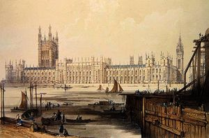Thomas Colman Dibdin - The New Houses of Parliament