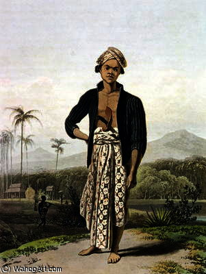 A Javan of the Lower Class by Thomas And William Daniell (1769-1837, United Kingdom) | ArtsDot.com