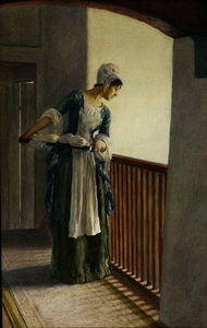 William Henry Margetson - The laundry maid