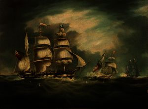 Thomas Buttersworth - HMS Belle Poule, HMS Herm..
