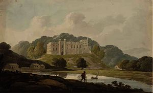 William Payne - A landscape with castle