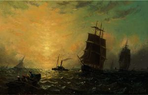 Adolphus Knell - Heading for home