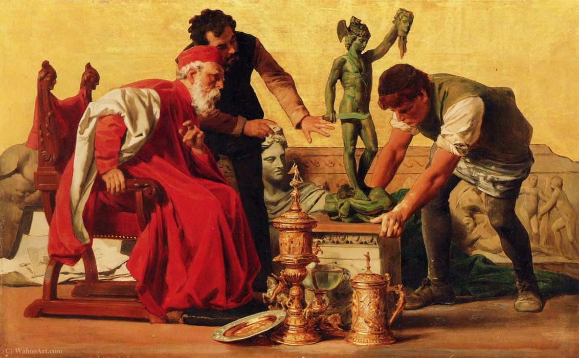 Ars by Anton Von Werner (1843-1915, Germany) | Museum Quality Reproductions | ArtsDot.com