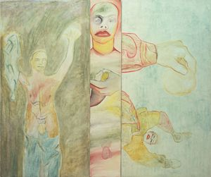 Francesco Clemente - Conversion to Her