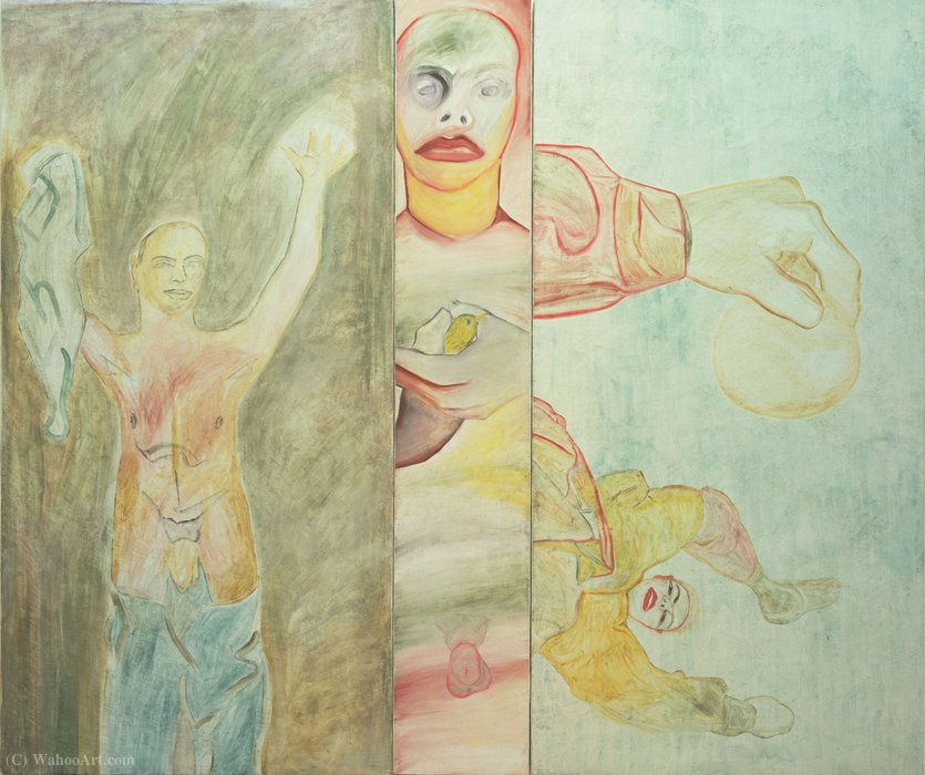 Conversion to Her by Francesco Clemente