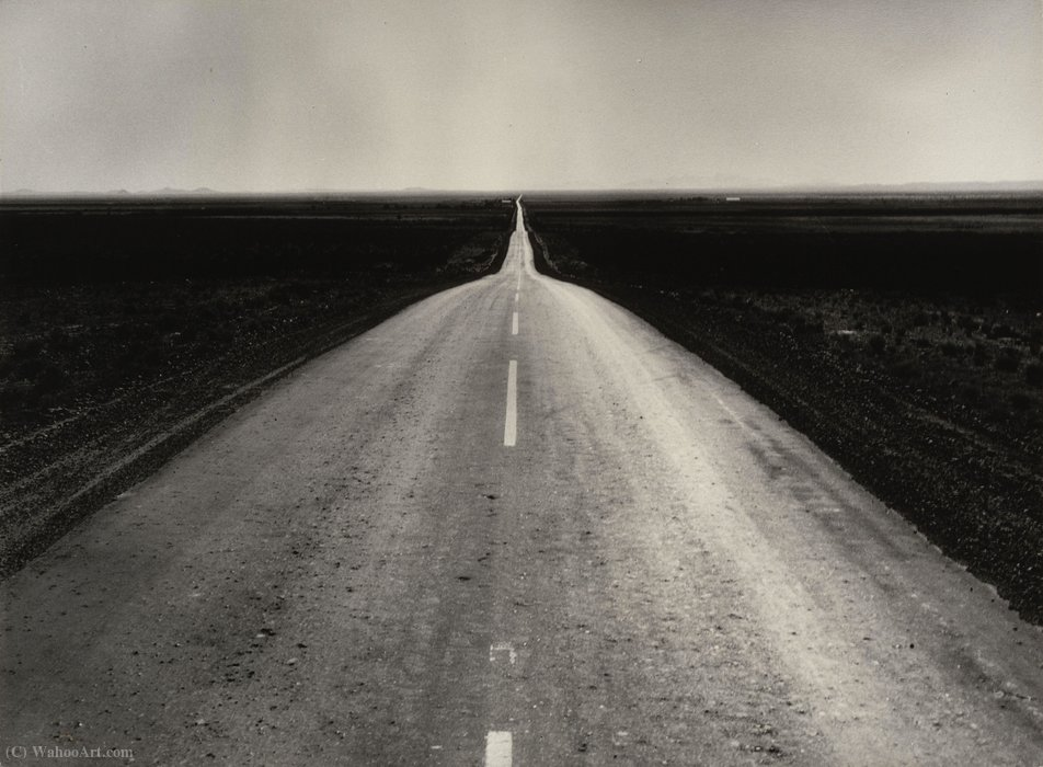 The road west, new mexico by Dorothea Lange (1895-1965, United States)