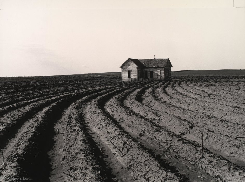 Tractored out, childress county, texas by Dorothea Lange (1895-1965, United States) | Art Reproduction | ArtsDot.com