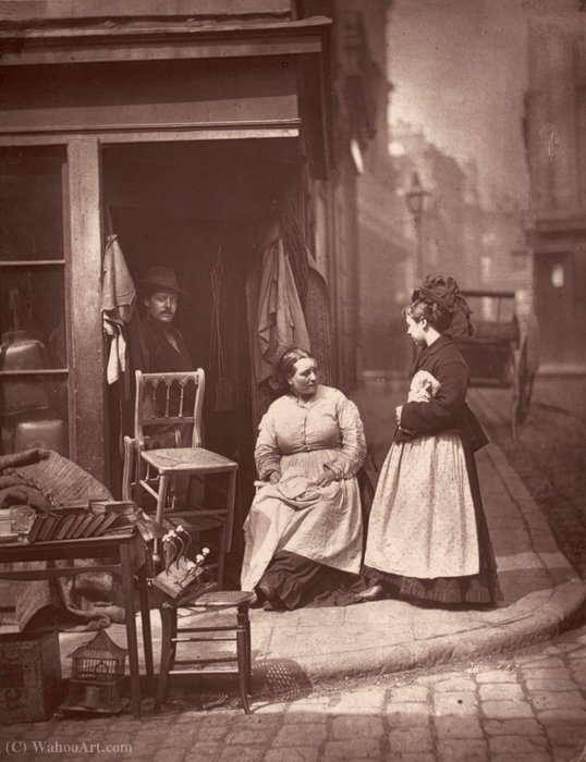 Old Furniture from the album Street Life in London by John Thomson
