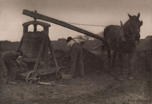 Peter Henry Emerson - The Clay Mill from Pictures of East Anglian Life