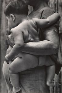 Tina Modotti - Mother and Child, Tehuantepec, Oaxaca, Mexico
