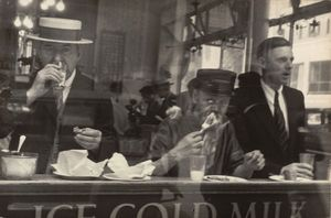 Walker Evans - City lunch counter, new y..