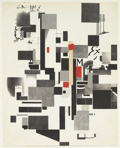 Kurt Schwitters - Untitled from Merz Mappe