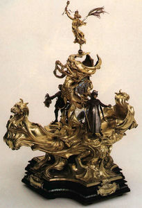 Alfred Gilbert - Epergne Presented to Queen Victoria