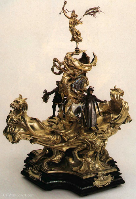 Epergne Presented to Queen Victoria by Alfred Gilbert (1854-1934) | Museum Quality Reproductions | ArtsDot.com