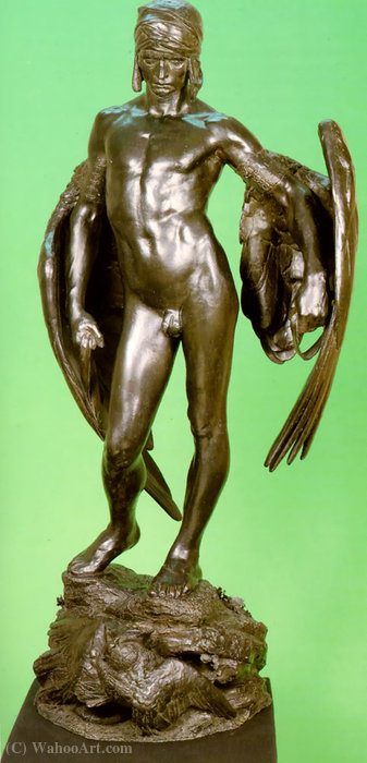 Order Museum Quality Copies | Icarus by Alfred Gilbert (1854-1934) | ArtsDot.com