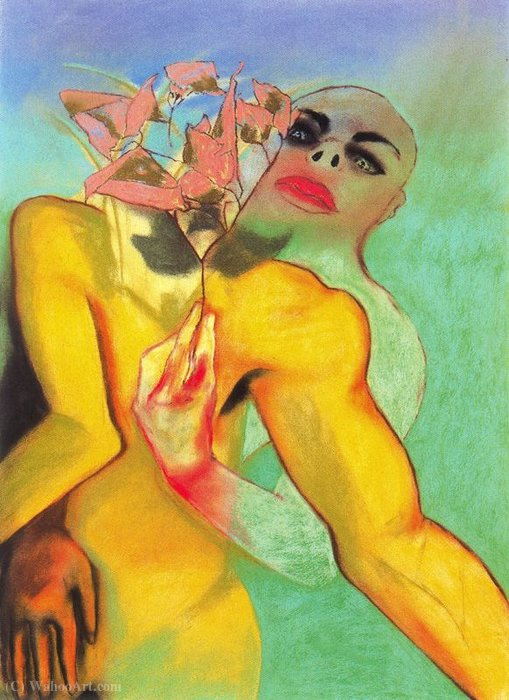 Untitled (434) by Francesco Clemente