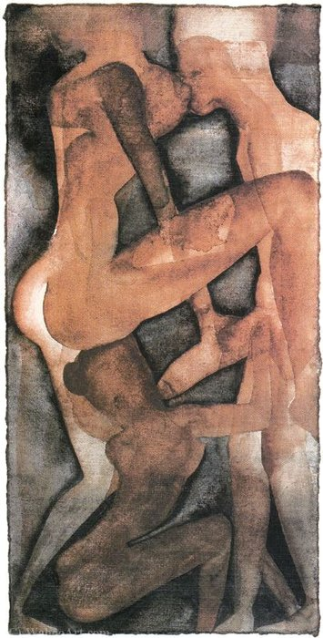 Untitled (948) by Francesco Clemente