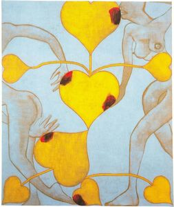 Francesco Clemente - Untitled (998)