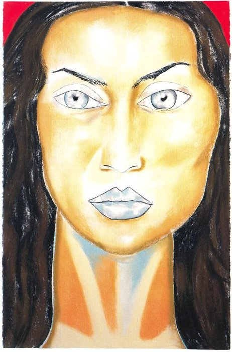 Untitled (520) by Francesco Clemente
