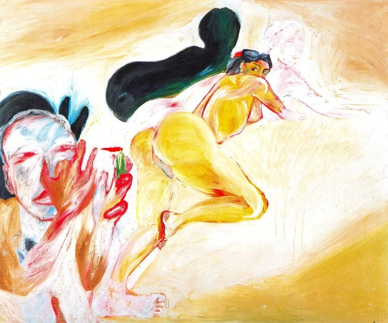 Untitled (256) by Francesco Clemente | Art Reproduction | ArtsDot.com
