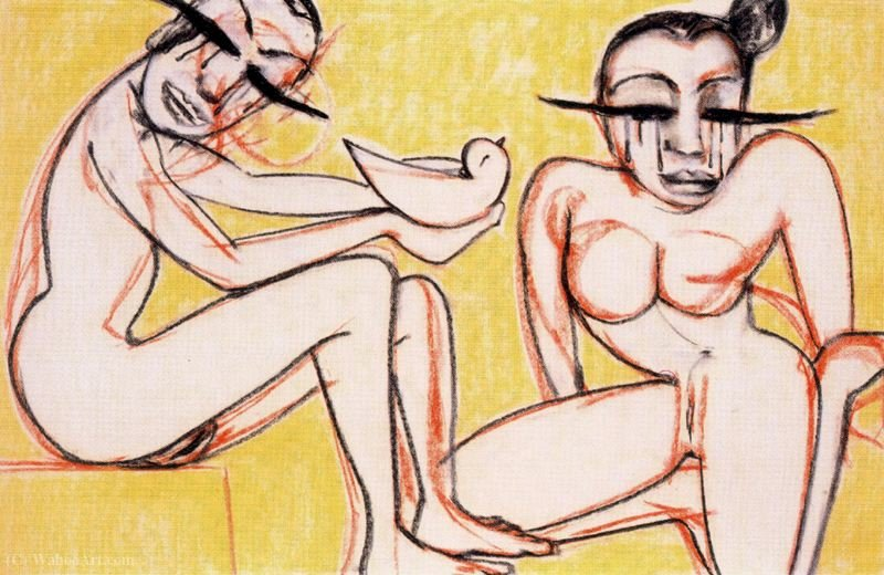 Untitled (672) by Francesco Clemente | Art Reproduction | ArtsDot.com