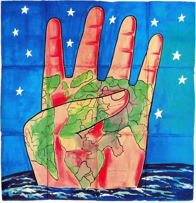 Untitled (511) by Francesco Clemente | Museum Art Reproductions | ArtsDot.com