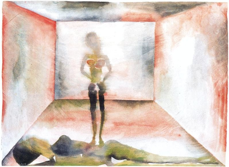 Untitled (508) by Francesco Clemente