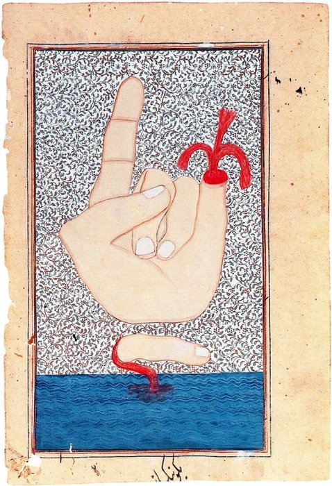 Untitled (963) by Francesco Clemente