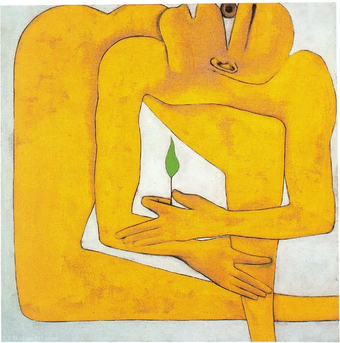 Untitled (420) by Francesco Clemente
