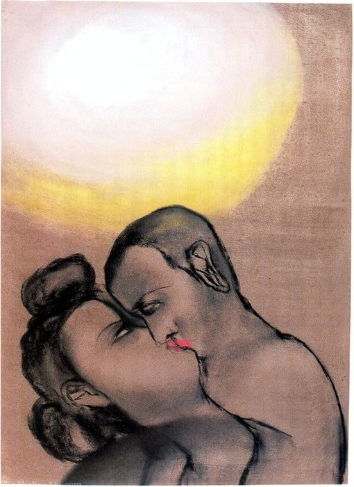 Untitled (731) by Francesco Clemente