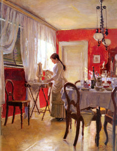 Peter Ilsted - Wilhelm the dining room